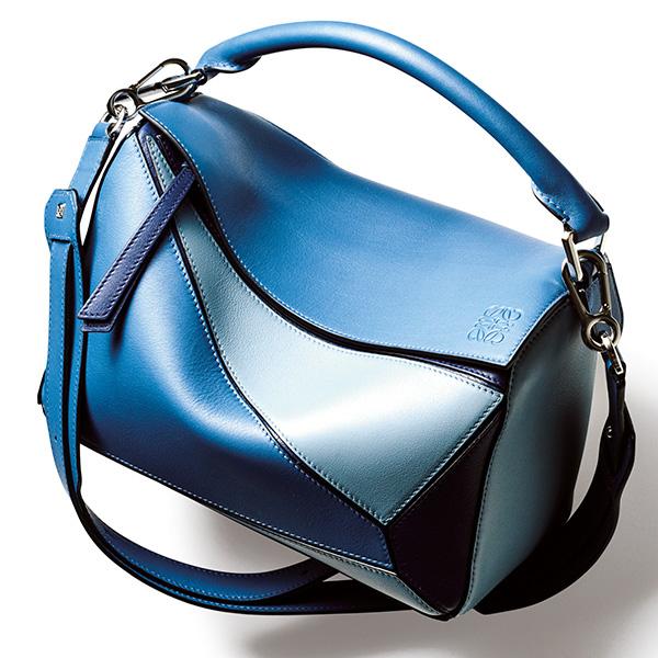 ロエベ×ブルーのパズルバッグ