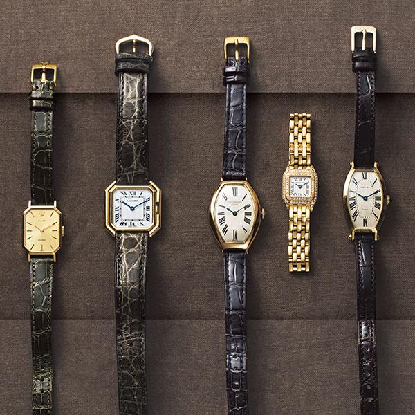 エディター 須藤由美さんのヴィンテージ時計コレクション