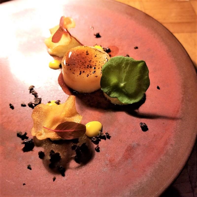 雪室熟成ポテトと秋トリュフのサラダ 鱈ブランダード アイオリソース