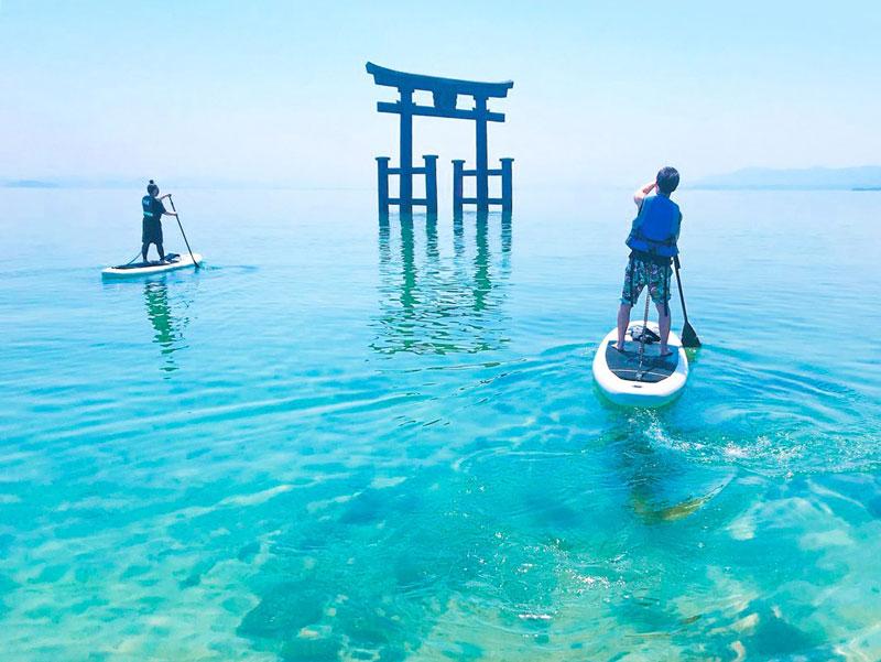 滋賀|琵琶湖SUP体験