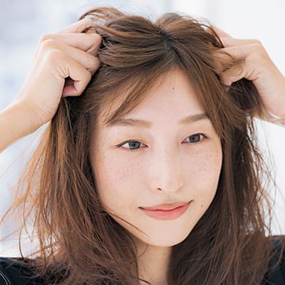 ミディアムヘア|ループお団子×簡単ヘアアレンジ