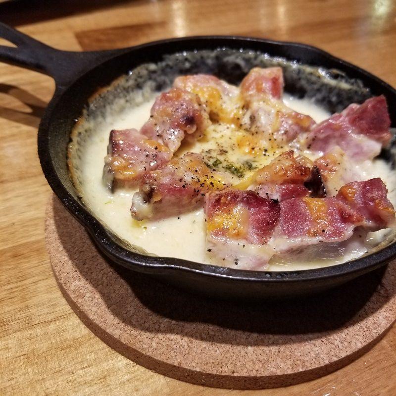 ブロックハムのチーズ焼き