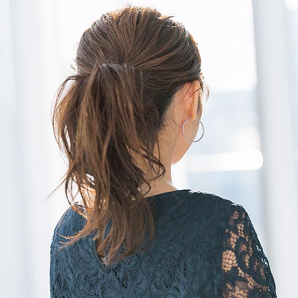 ニュアンスを出したいなら巻き髪は必須