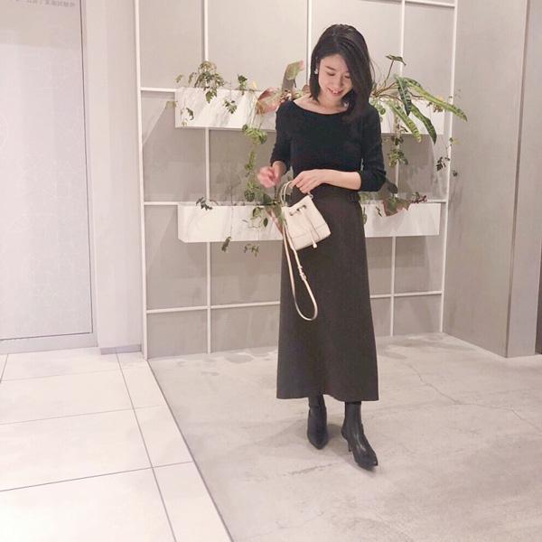 IENA|イエナのロングスカートで通勤コーデ
