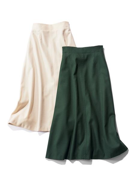 [IENA×渡辺智佳]フレンチシックなロングスカート