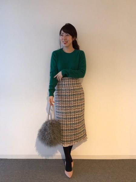 【UNIQLO】カシミヤクルーネックセーター
