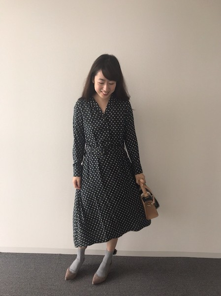 【UNIQLO】レーヨンワンピース