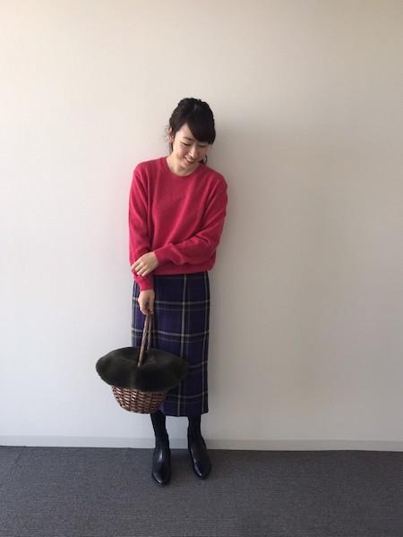 【UNIQLO】プレミアムラムクルーネックセーター