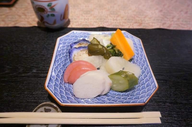 京野菜のお漬物