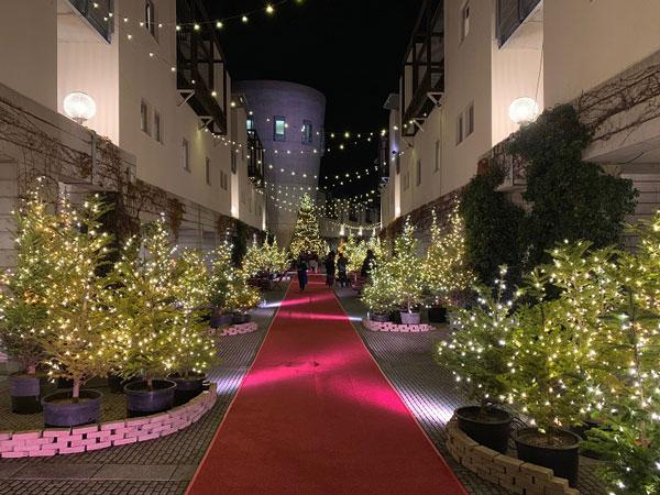 星野リゾート リゾナーレ八ヶ岳 クリスマスイベント「八ヶ岳クリスマスタウン」