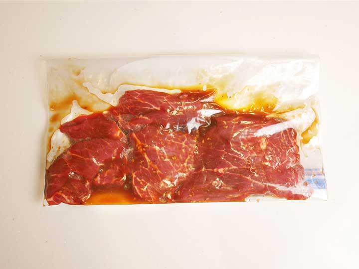 焼く前に、お肉を常温に戻す