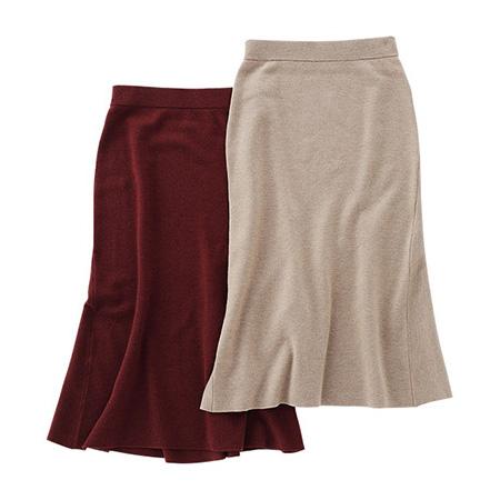 マーメイドラインのスカート