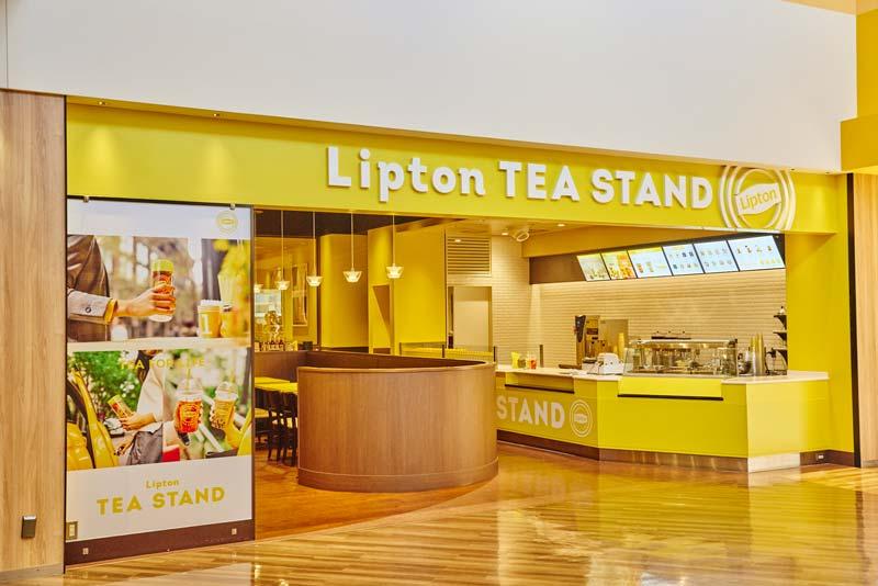Lipton TEA STAND 三井アウトレットパーク 札幌北広島店