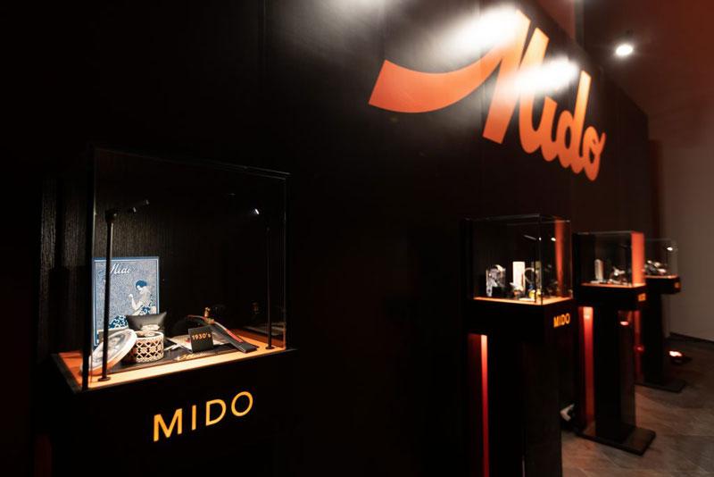 MIDOの100周年を紐解くアイテム