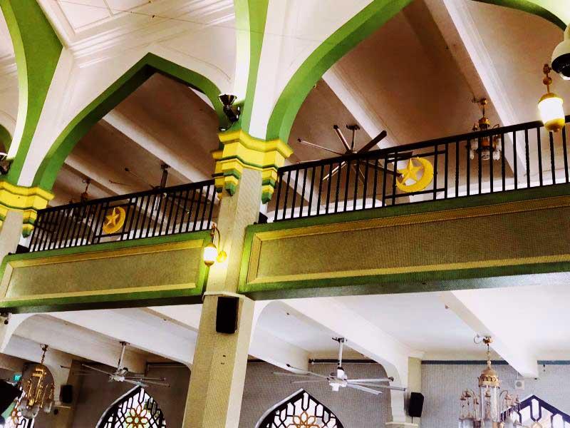 建物の内部
