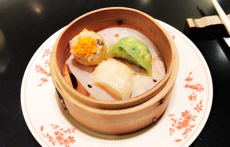 中華料理店でランチ