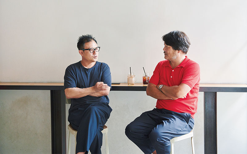 ATON ディレクター・久崎康晴さん SLOANE ディレクター・小峰明彦さん