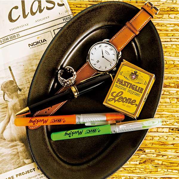 日&仏の名品で時計とペンをそろえて