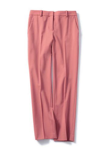ピンクのスティックパンツ