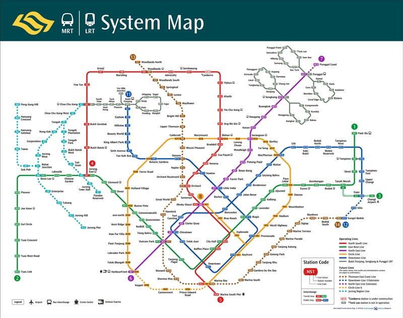 地下鉄の図