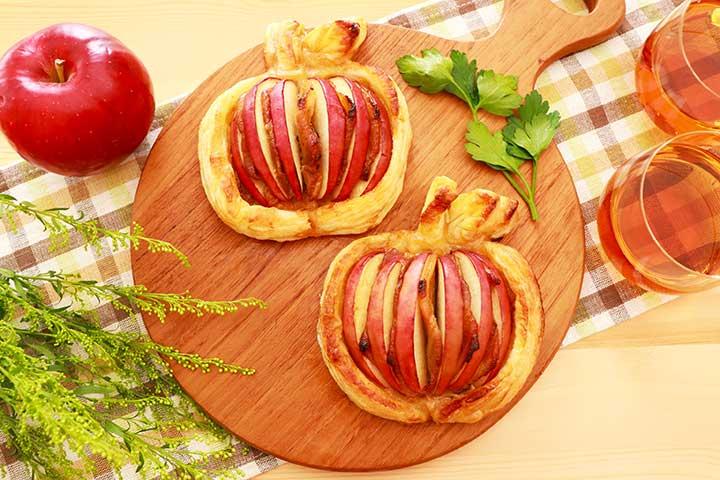 りんごミートパイ