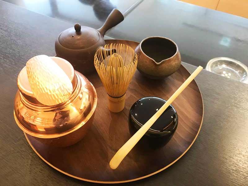 ウェルカムドリンク 抹茶