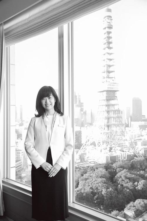 プリンスホテル 東京シティエリアマーケティング統括支配人 林佳代さん