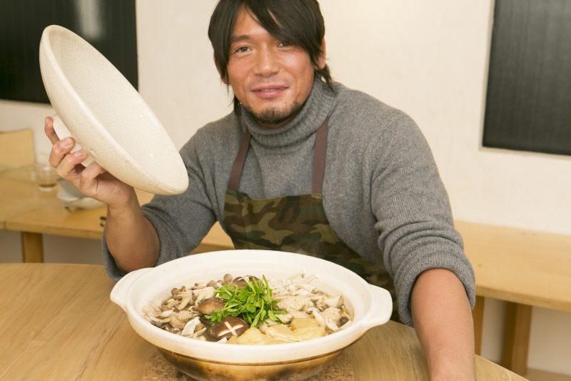 きのこの山鍋〜柚子胡椒風味〜