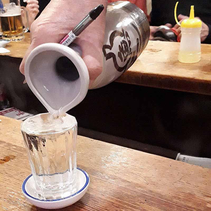 日本酒(熱燗)