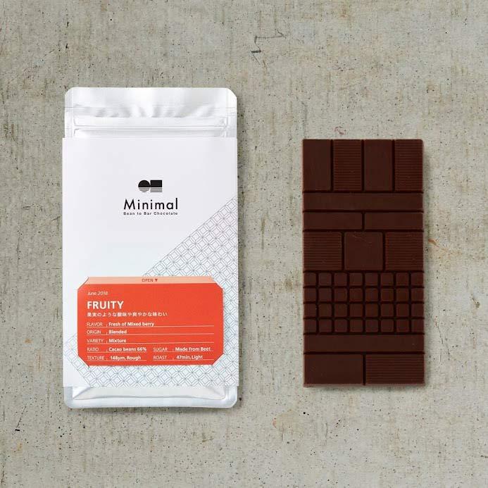 チョコレート「フルーティー」
