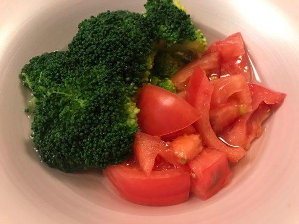 ブロッコリー 冷やしトマト