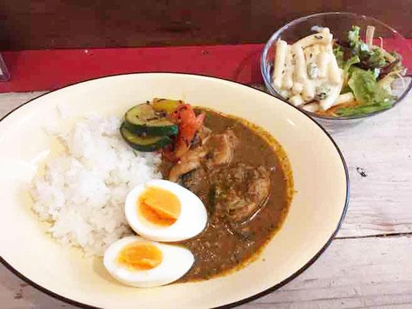 神田 キッチン723 スパイスチキンカレー