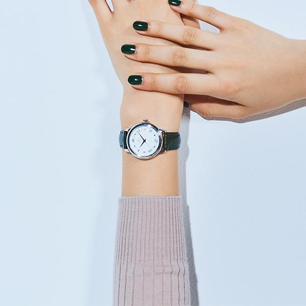 OMEGAのレザーベルト時計