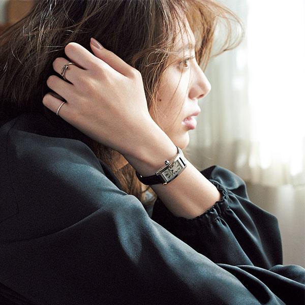 ◆【カルティエ】タンクシリーズの時計