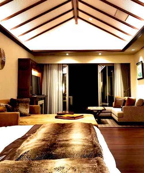 赤倉観光ホテル ベッド