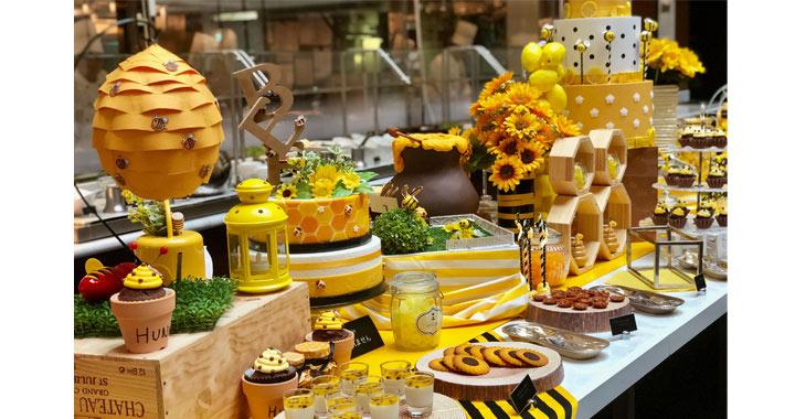 6f0612f906b41 ホテルでハニーハント!  ハチミツとチーズがテーマのブッフェ開催中! ストリングスホテル東京インターコンチネンタル