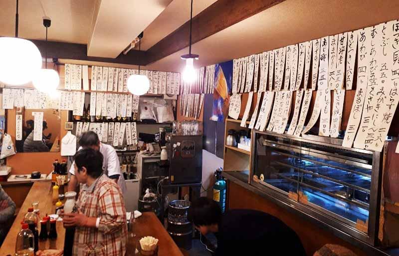 魚三酒場 富岡店 店内