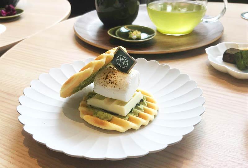 バッフェルサンド(抹茶)