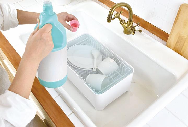 水切りかご「YOHAKU」 日常のお手入れが簡単