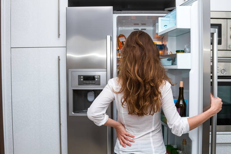 冷凍庫のマーキングスポット