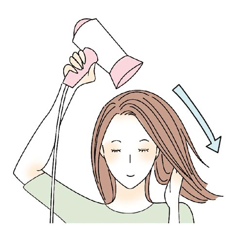 乾燥から髪・頭皮を守りたい!
