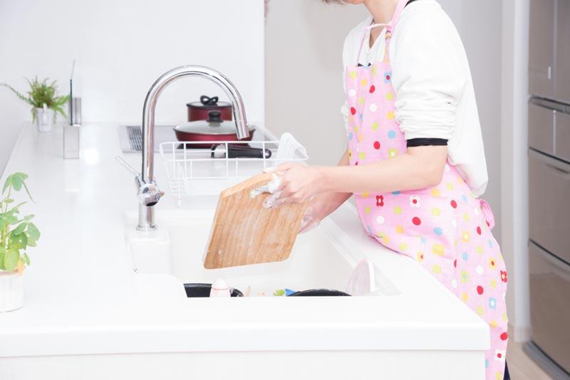 食中毒予防 まな板洗浄