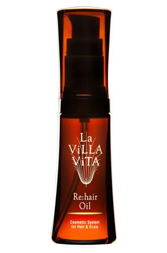 リ・ヘア オイル<洗い流さないトリートメント>【La ViLLA ViTA】
