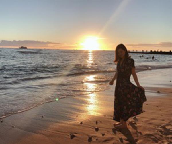 ワイキキビーチ サンセット