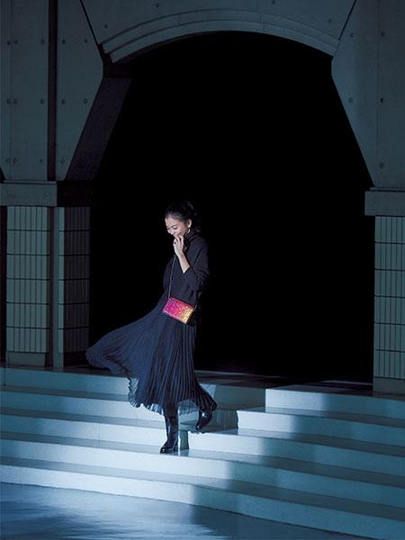 黒タートル×華やぎスカート