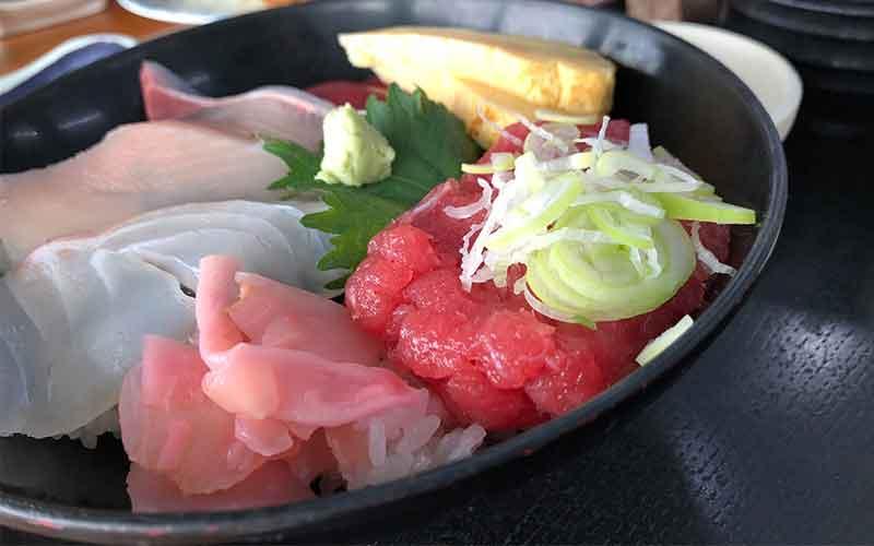 海鮮ねぎマグロ丼