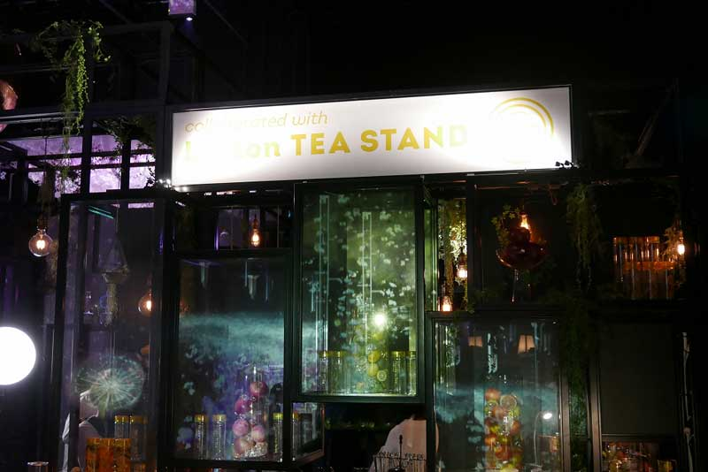 """Lipton TEA STAND 特別店舗「Bar""""The Secret of Secret Garden""""」"""
