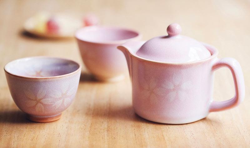 【山口県】萩焼 ポット 湯飲み