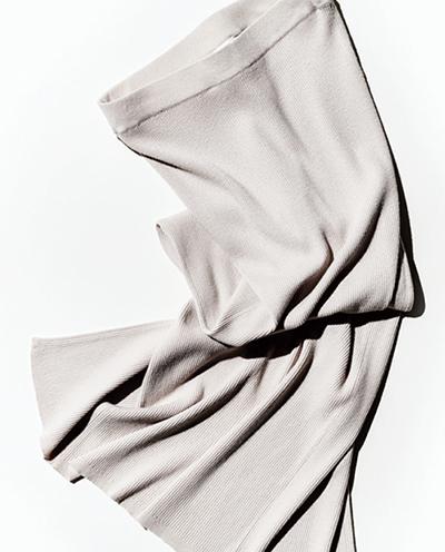 リブニット〝ロングスカート〟