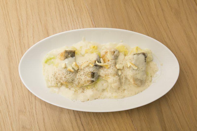 タラと白菜の柚子胡椒クリーム煮
